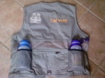 Dog Walker's Tool Vest. Packs Safety, Comfort and Convenience. (Patent Pending)